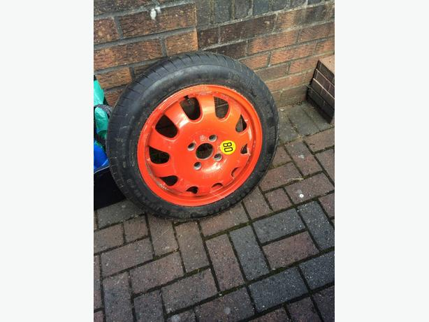 ford focus ST spare wheel