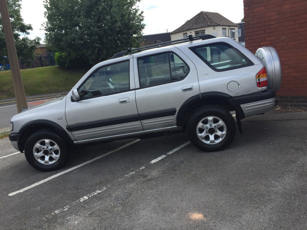 vauxhall frontera 4X4 limited