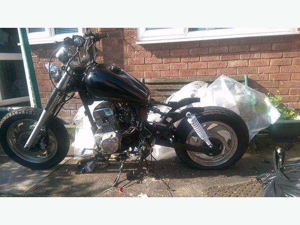125 bobber project