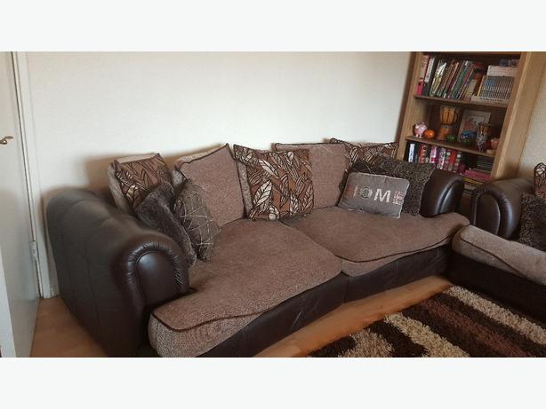 2×4 seater dfs sofas