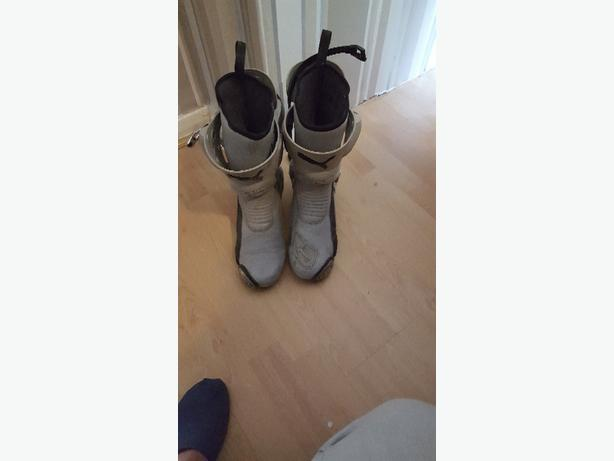 puma motorbike boots