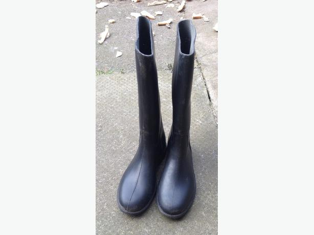 Horse riding boots. Size 2