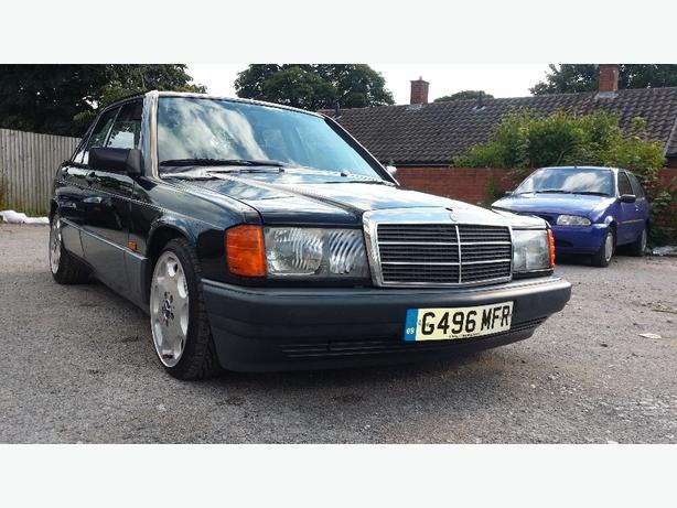 mercedes e190 gas converted long MOT