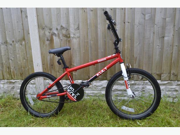 red BMX _ Reebok edition _