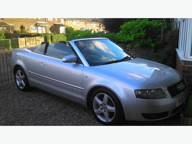 audi a4 convertible power hood