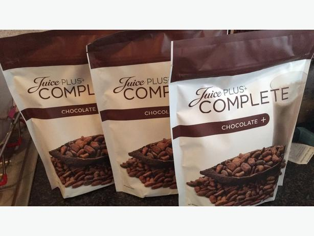 juice PLUS + complete chocolate