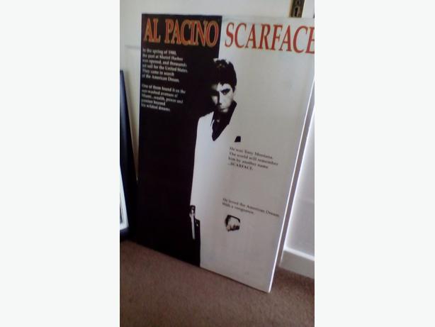 Scarface movie canvas