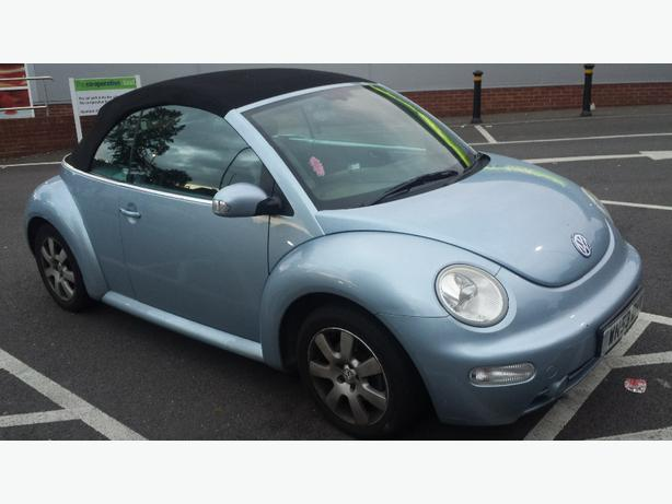 2003 53 VW BEETLE CABRIOLET CONVERTIBLE 1.6
