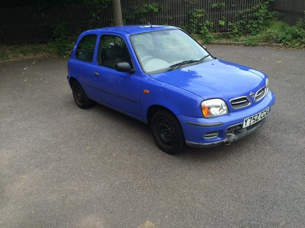 nissan micra s 1,0 2001 low milage