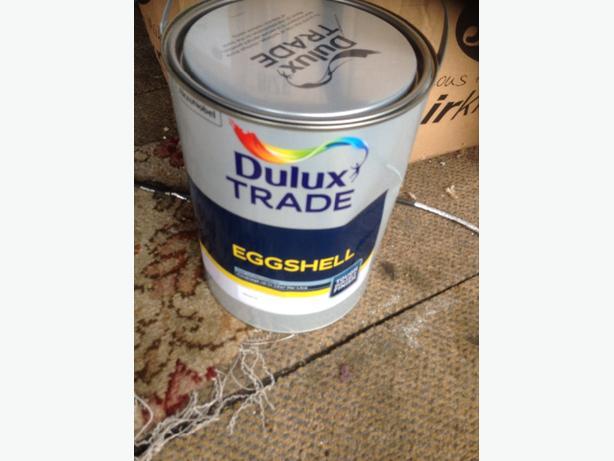 dulux eggshell paint
