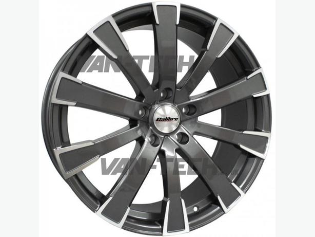 The Calibre Manhattan 20″ Alloy Wheels Gun Metal VW T5 Van