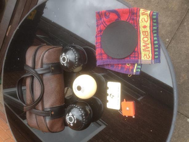Crown Green Bowls, Bag ,Jack £40