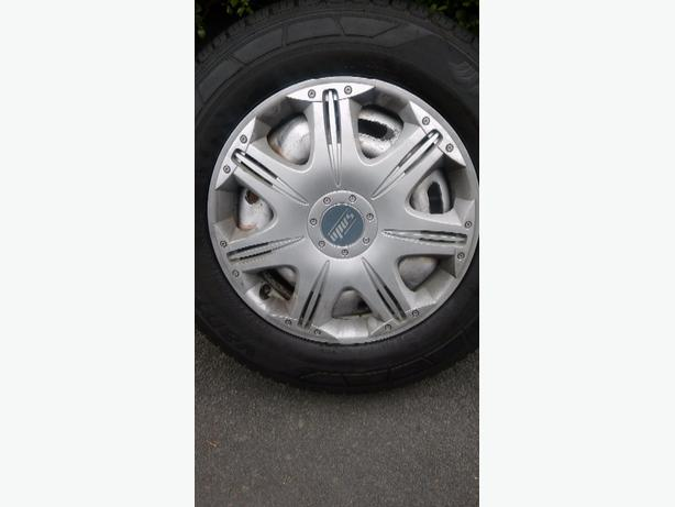 ford transit wheels x4 185/75r16g