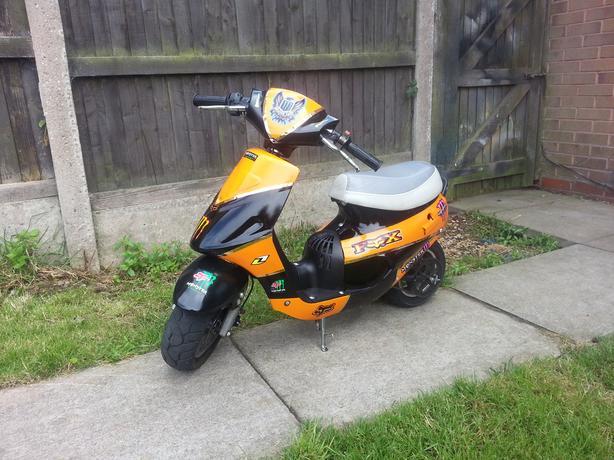 mini moped 49cc [ rare bike ]