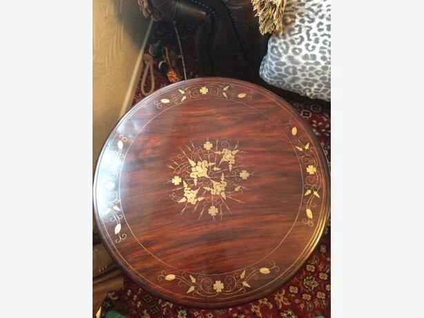 Ornate Inlaid Table