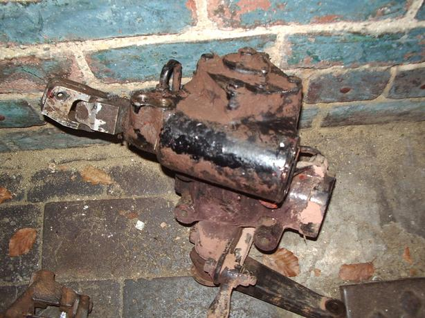 landrover discovery 300tdi steering box