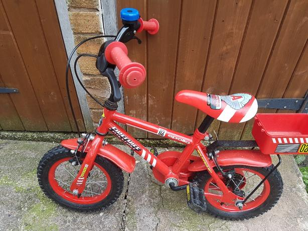 childs 12.5 wheel bike