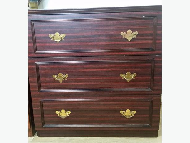 2 sets of Brown strong drawers x3