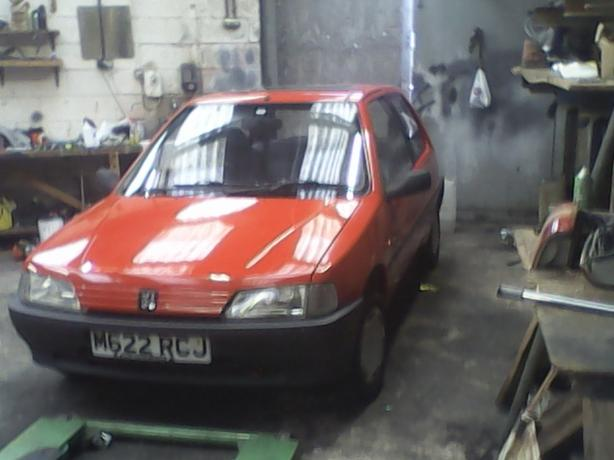 Peugeot 106 diesel mot clean car