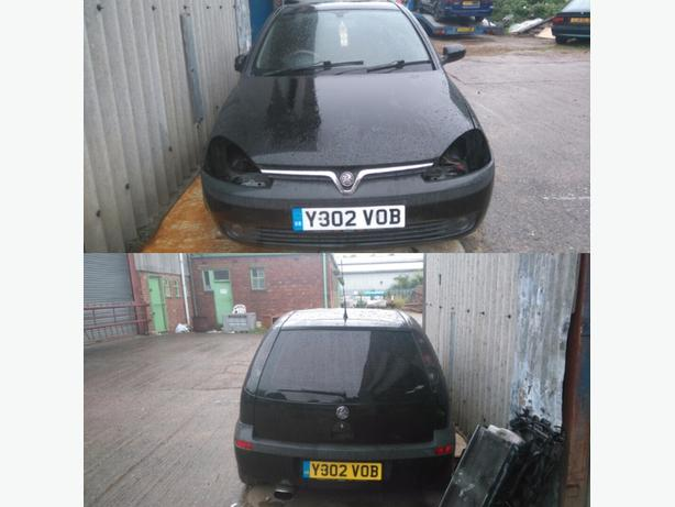 corsa c Sri z20let spare or repairs
