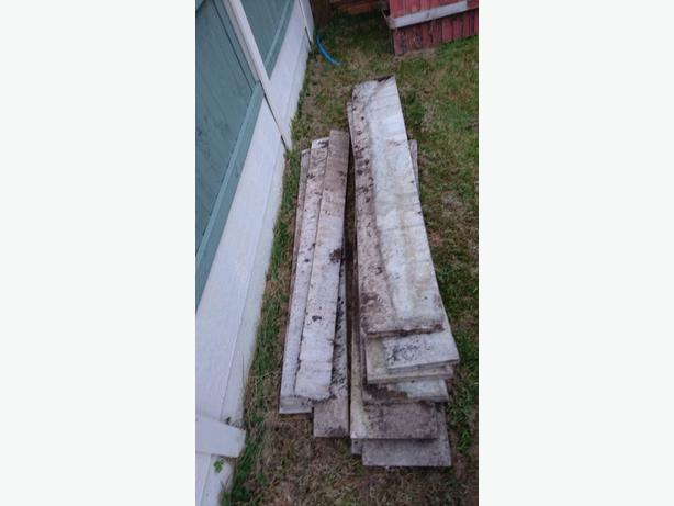 FREE: concrete gravel boards