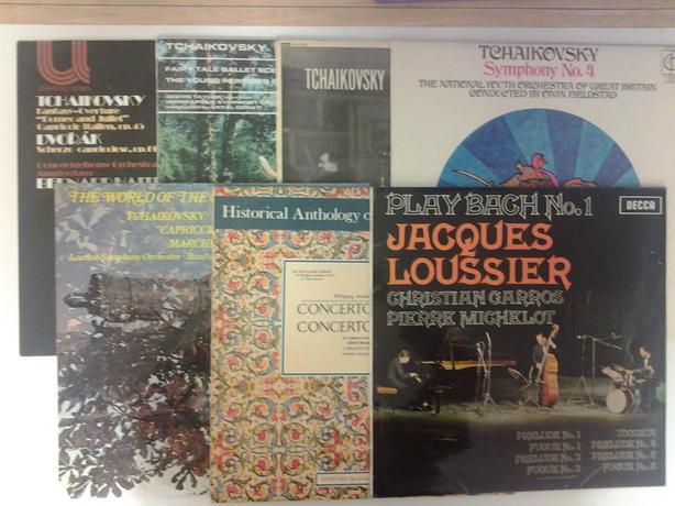"18 x CLASSICAL MUSIC (VARIOUS) 12"" LP's"