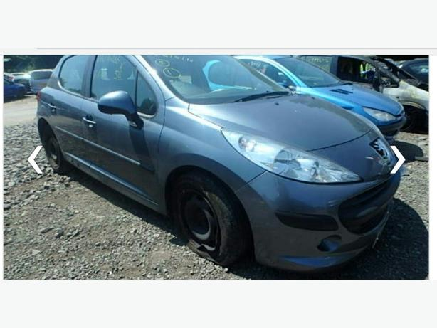 peugeot 207 2008 breaking for parts
