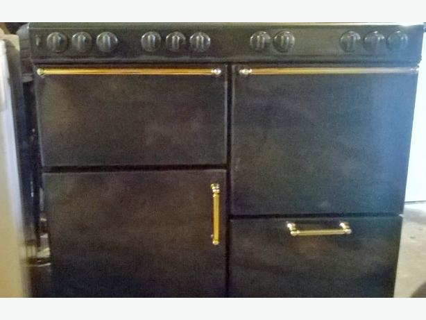 8 stove gas cooker with double oven