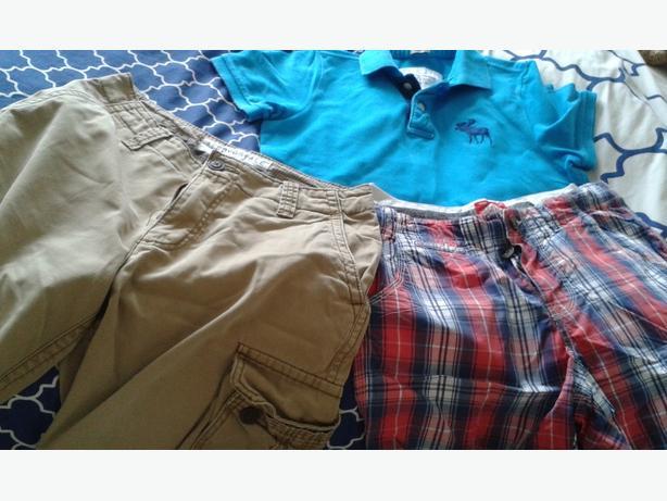 meduim adults A& F T- shirt & Superdry & Aerospace shorts