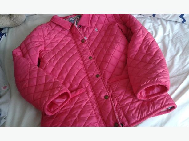 Joules girls coat