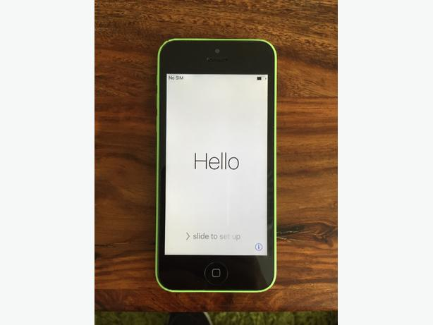 Iphone 5c - Colour Green