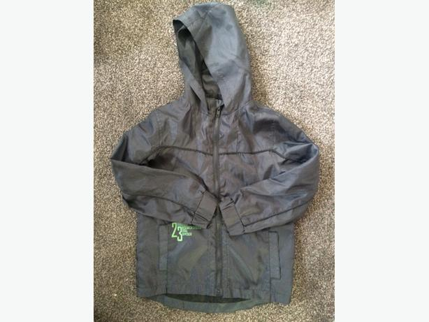 age 5 - 6 waterproof coat