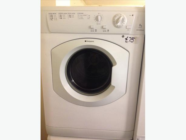 7KG HOTPOINT AQUARIUS DRYER
