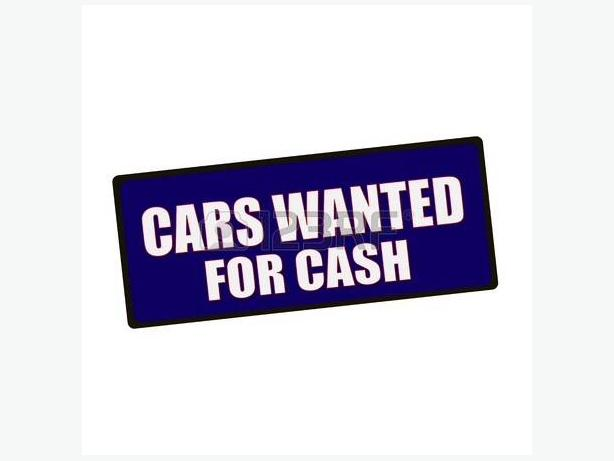 WANTED: Cars & Commercial Vehicles