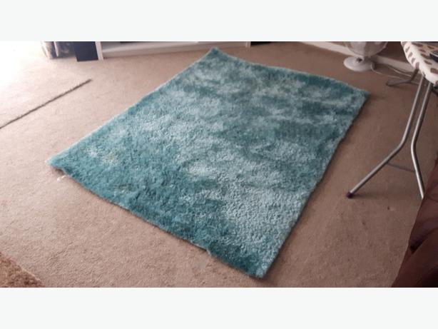 Soft, thick rug.