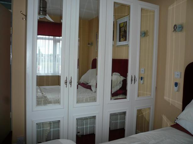 2 large wardrobes