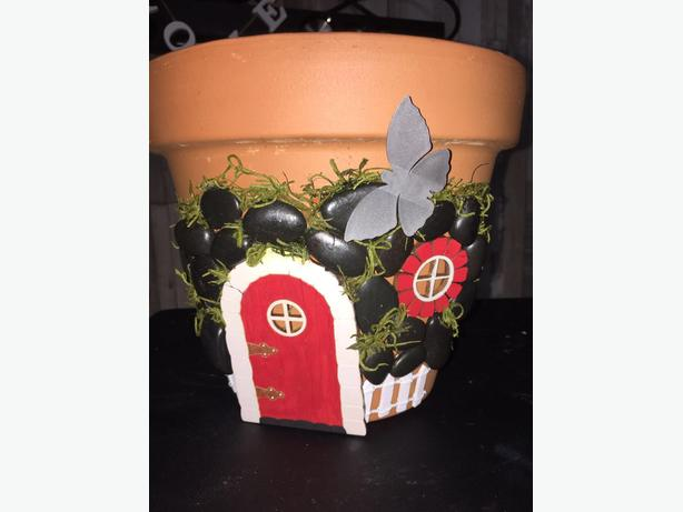 Handcrafted Enchanted Plant Pots