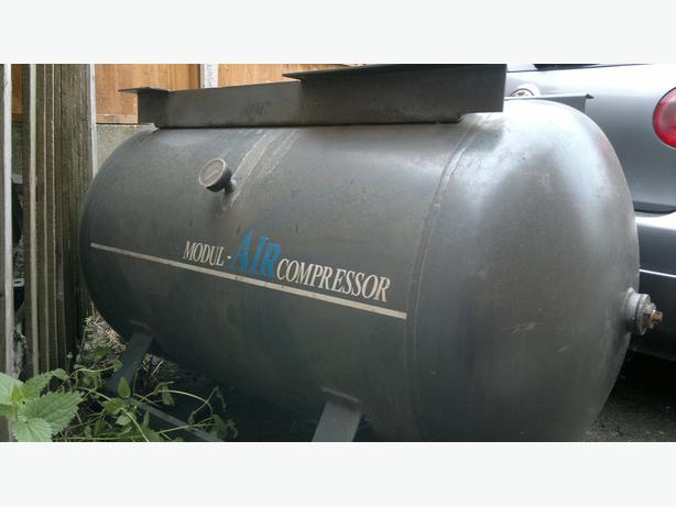 Compressor tank 500 l + electric engine 15kw