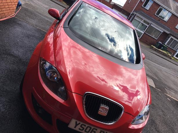 Seat Altea 1.9 diesel red 5dr