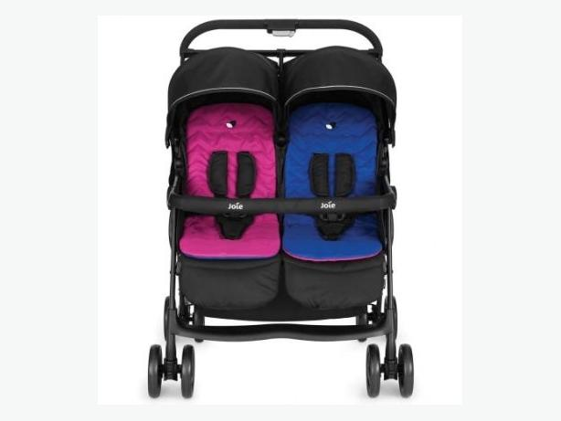 joie air double pram