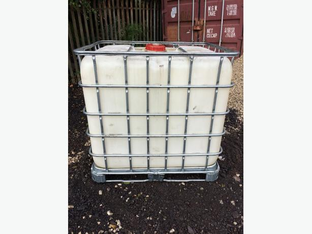 ibc 1000 litre container clean