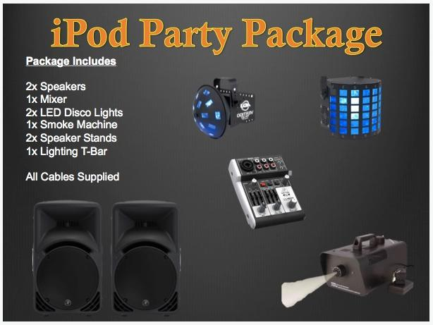 iPod Disco Party