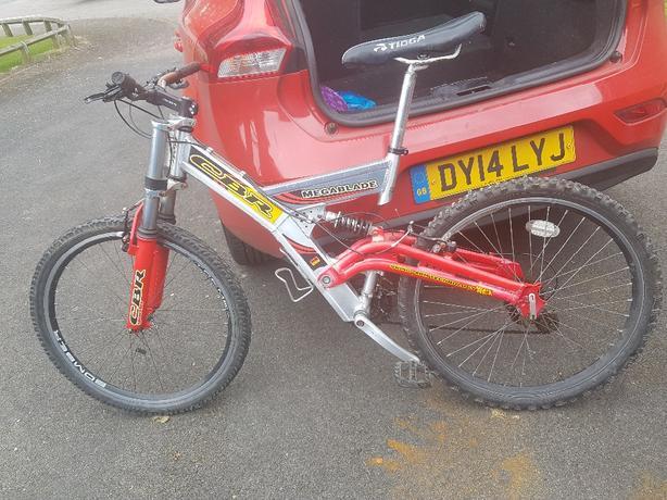 cbr megablade bike