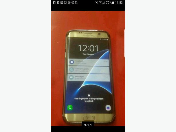 samsunf galaxy s7 edge Platinum Gold