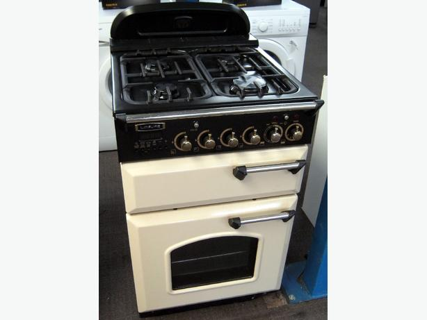 Leisure 60cm Dual Fuel Cream Cooker, Gas Hobs, Electric Ovens, 6 Month Warranty