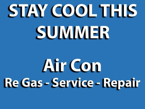 Air Condition Re- Gas Service!!