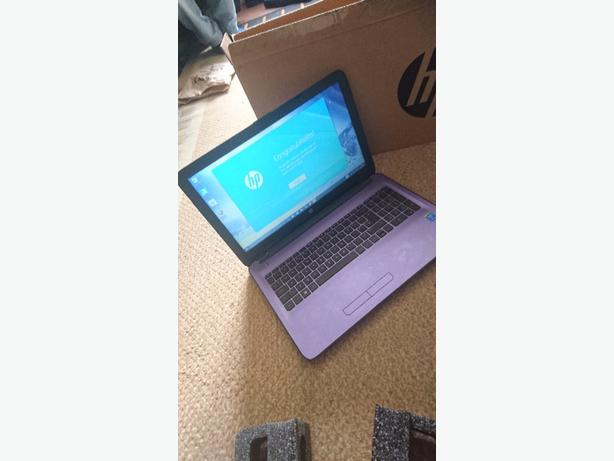 new hp laptop 4gig ram 1tb  hard drive