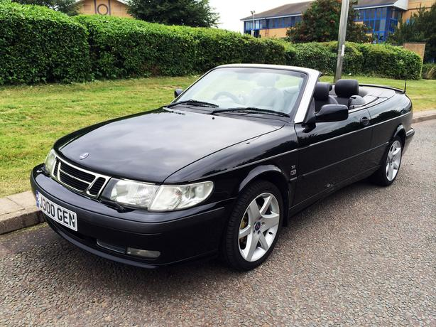 Saab 9-3 2.0 T SE CONVERTIBLE, MOT March 2017, in very good condition
