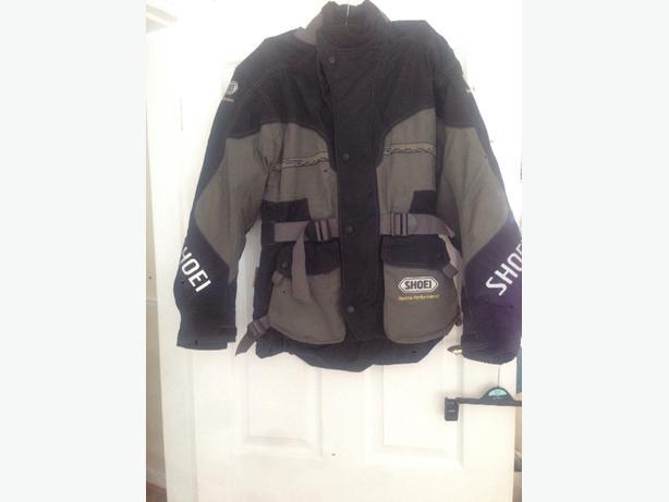 shoei motorbike jacket