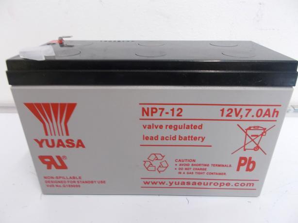 YUASA NP7 - 12 Lead Acid battery 12v 0Ah